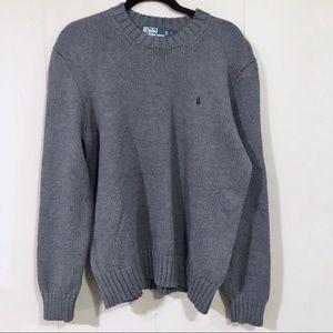 Polo Ralph Lauren gray sweater